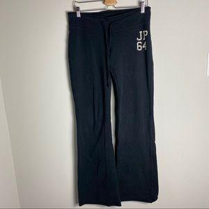 Joshua Perets Wide Leg / Flared Joggers Sweatpants